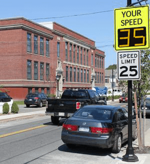 Municipal Traffic Calming - Radarsign.com