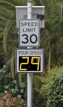 Radar Speed Sign / Radarsign