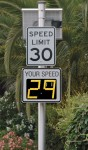 Radarsign TC-500 radar speed sign