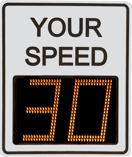 Radarsign TC-600 radar speed sign