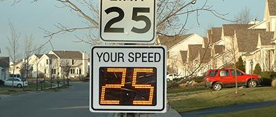 Traffic Calming applications- Neighborhood