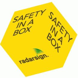 Radarsign Safety in a Box/