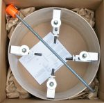 Radarsign Options and Accessories-Radarsign Concrete Form Kit