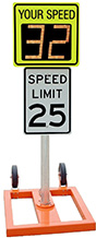 Radar speed sign bundles | Mobile Patrol Stand