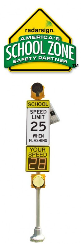 Radarsign™ is America's Official School Zone Safety Partner™