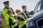 Cop with kids