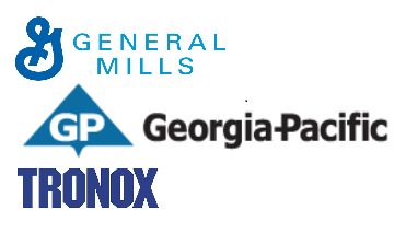 GP, General Mills and Tronox